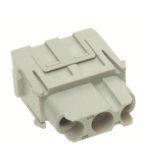 Harting 9140033101Connecteur femelle 3 pôles HAN C 600V /32A