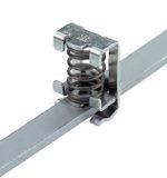 Weidmuller 1600480000 Etrier de serrage KLBUE 3-8 Pour raccordement blindage acier