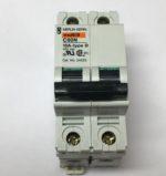 Merlin Gerin 24522 Disjoncteur modulaire Multi9 C60N, MCB, 2 poles - 10 amperes- courbe D