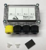 Baumer ASIA 36A3011 Module de l'utilisateur actif contacts rapides, plage de tension 26,5-33,1 VDC, 3 entrees