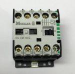 Moeller DILEM-10-G Module logique, 24V CC, 8 entrees TOR (2 entr. analog.), 4 sort. TOR a trans., ecran graphique, horloge