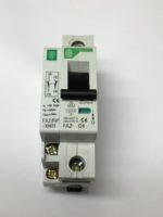 Moeller FAZ-C6+FAZ/FIPXHI11 Disjoncteur 1 pole 6 amperes, coube C, AC Pour appareillage de commutation pour applications industrielles et commerciales avancees