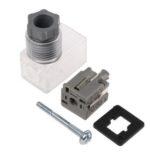 SMC K43 Connecteur pour bobines D, Cable/Connecteur DIN, serie K , ØValves de serie SYZ 4-6 mm fourni avec indicateur lumineux et suppresseur de surtension. Temperature d'utilisation : -10 → +50 °C.