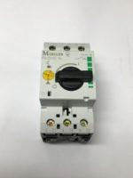 Moeller PKZM0-16 Disjoncteur-moteur PKZM0 3 poles, Ir=10-16A,pour la protection des moteurs Compatible egalement avec les moteurs de classe d'efficacite IE3.