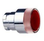 Schneider Electric ZB2-BW343 Harmony XB2, tete bouton poussoir lumineux - Ø22 - affleurant, rouge