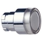 Schneider Electric ZB2-BW37 Harmony XB2, tete bouton poussoir lumineux - Ø22 - affleurant, blanc