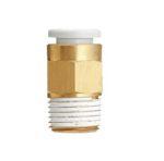 """SMC KQ2H08-02S Straight Plug-In Connector R1/4""""-8.0 mm Type de produit Connecteur mâle"""