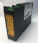 Tesch F117x01 07400015 Relais de securite 24VAC/DC Relais de surveillance de securite 24V ACDC