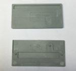 Wago 280-310 Separateur, epaisseur 2 mm, en saillie, gris
