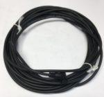 Binder 7934141503 Fiche ronde femelle M8 coude 3 poles avec cable 5 metres, classe de protection IP65, Intensite nominale 3A, tension nominale 60 V