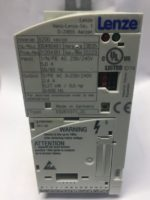 Lenze E82EV371-2C Convertisseur de frequence serie 8200, 0.37 kW, 180 to 264 V ac, 45 to 65 Hz Reference fabricant E82EV371-2C