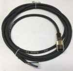 Baumer ES34AP2 Connecteur 4 pins femelle M12 droit, cable 2 metres