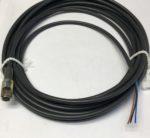 Baumer ESG 32SH0500 Connecteur 3 pins femelle M8 droit, cable 5 metres 4A 60V