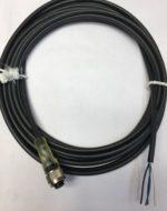 Baumer ESG 34AH0500 Connecteur 4 pins femelle M12 droit, cable 5 metres 4A 250V