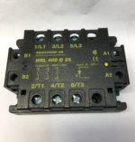 Selectron HRL480D25 Relais semi-conducteurs triphases 10 .. .40 VDC 480v 25A Tension d'entree 10 ... 40 VDC