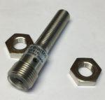 Baumer IFRM 08P1703/S14L Detecteur de proximite inductif, Portee nominale Sn 2 mm, Plage de tension +Vs10 ... 30 VDC