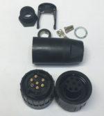 Amphenol-Tuchel T3105001 Connecteurs circulaires DIN 6+PE CABLE RECPT.