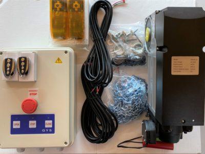 Kit moteur de portes industrielles Dooren avec commandes